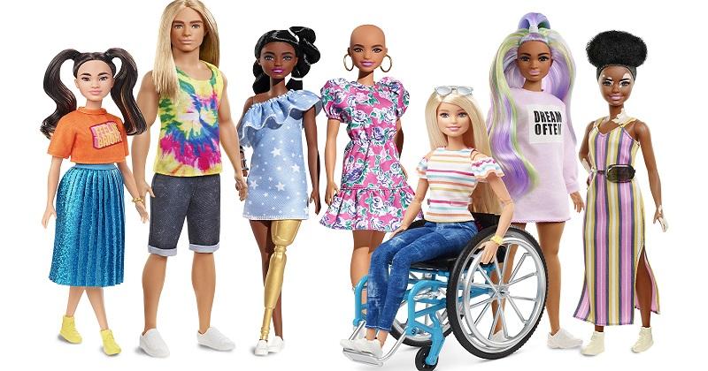 Barbie annuncia l'espansione della sua linea di bambole Fashionistas