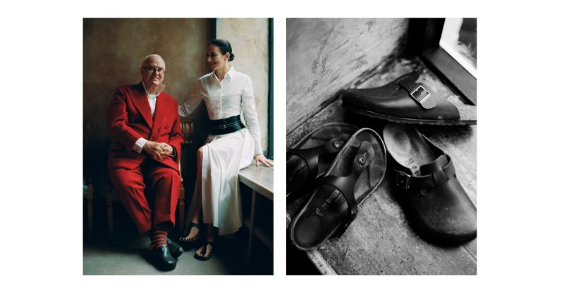Birkenstock prosegue la Personality Campaign: Manolo Blahnik e Faye Toogood sono i nuovi soggetti