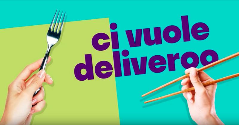 Deliveroo torna on air: ecco il nuovo spot