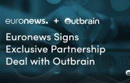 Partnership esclusiva tra Euronews e Outbrain per l'editoria digitale