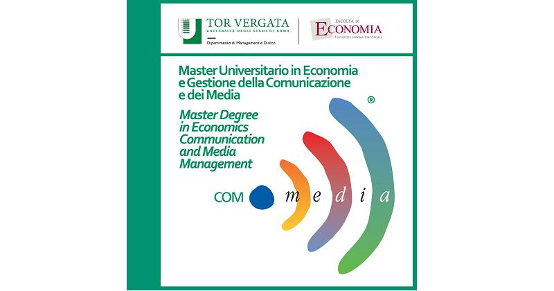 XVIII Edizione del Master Degree in Economics, Communication and Media Management