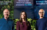 Microsoft rafforza l'impegno per la sostenibilità e punta a diventare carbon negative entro il 2030