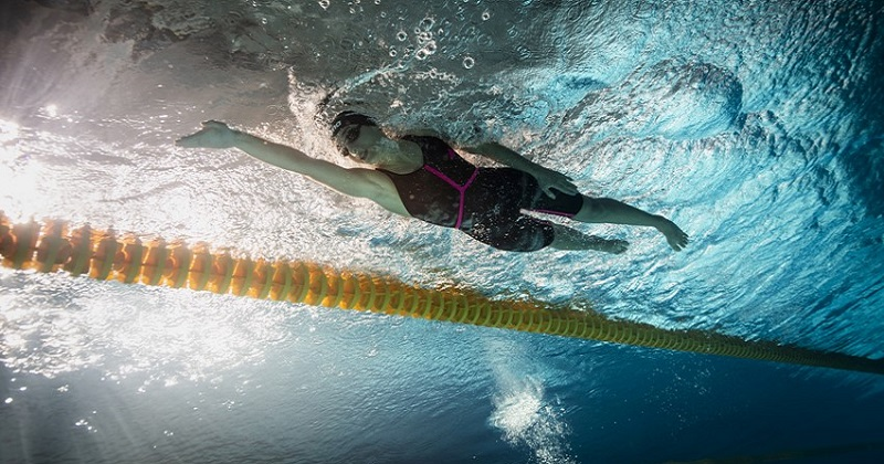 La stella del nuoto Simona Quadarella nuovo testimonal di Fastweb