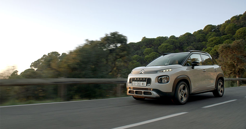 On air la campagna mondiale per SUV Citroën C3 Aircross