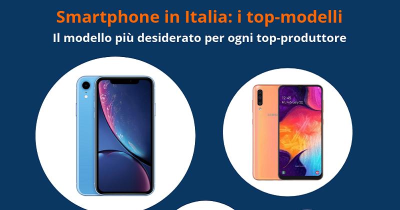 Smartphone: ecco i modelli preferiti dagli italiani