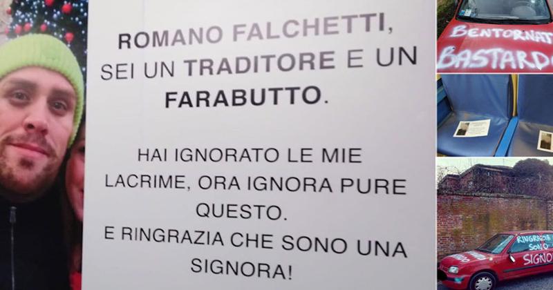 Ringrazia che sono una signora: un'operazione di guerrilla marketing per Romina Falconi