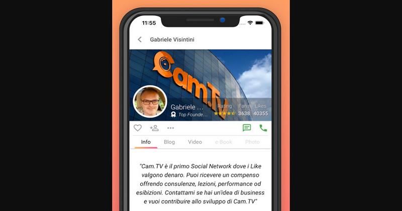 Cam.TV: il social che fa guadagnare dai