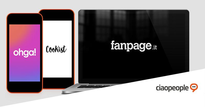Fanpage.it, Ohga e Cookist nel podio delle testate generaliste e verticali italiane