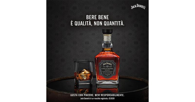 Jack Daniel's e il Responsible Drinking Month: iniziative su consumo responsabile e di qualità