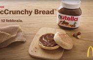 McDonald's lancia McCrunchy Bread con Nutella