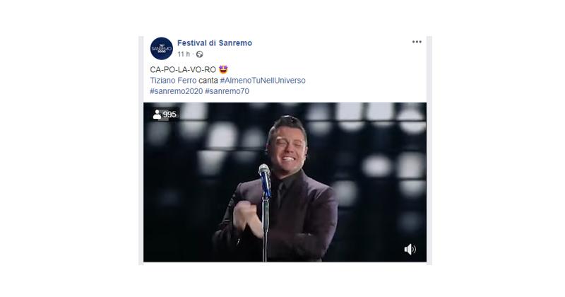 Publicis Media analizza la prima serata di Sanremo