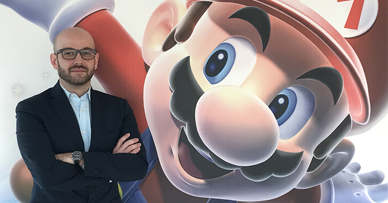 Nintendo Italia: Stefano Calcagni nominato nuovo Head of Marketing