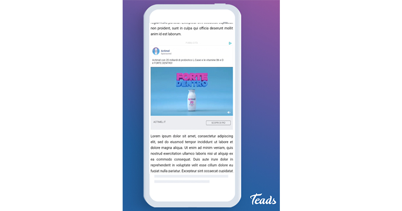 Teads lancia inRead Social, per rendere scalabile le proprie campagne social