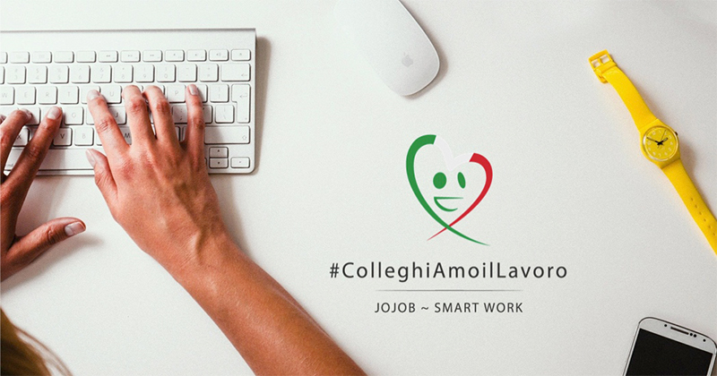 Smart Working: Jojob lancia #ColleghiAmoilLavoro per calcolare quanto si sta risparmiando