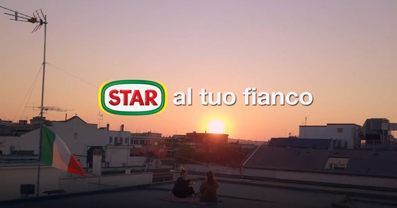 STAR torna in comunicazione con un video emozionale per