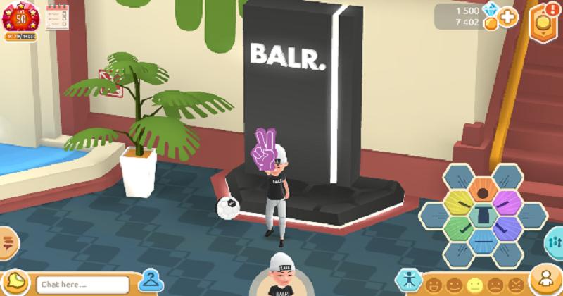 Con Azerion il brand cresce grazie ad un negozio immerso in un mondo virtuale: il caso di BALR