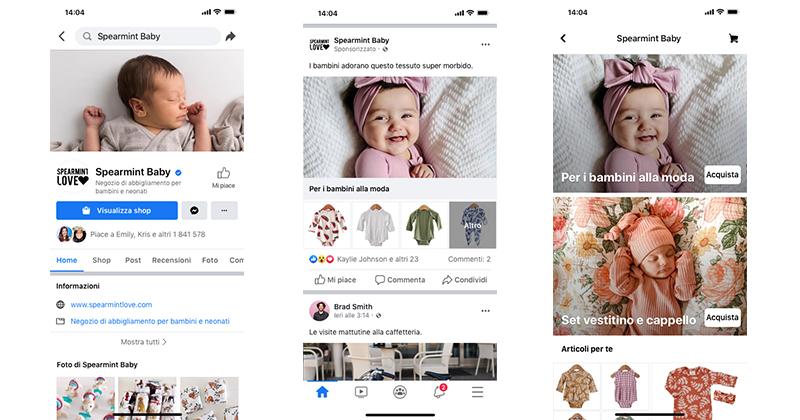 Arrivano i Facebook Shops: oggi anche le piccole imprese possono vendere online