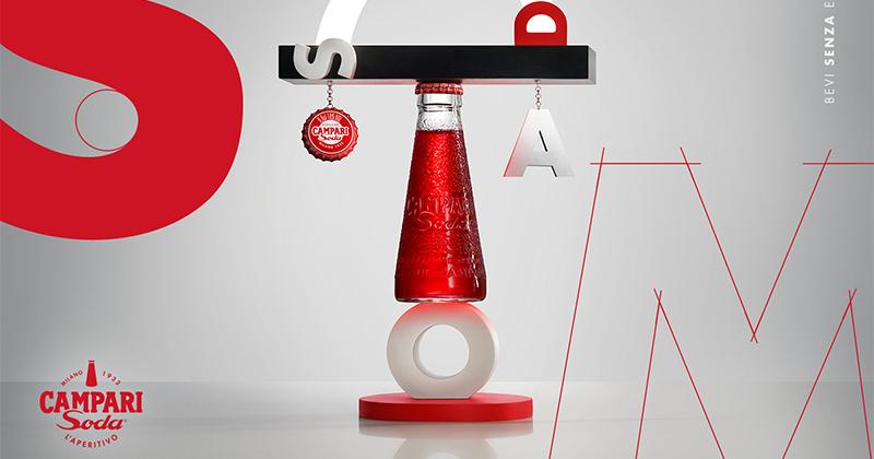Campari Soda presenta i 3 oggetti della sua #DesignConnection