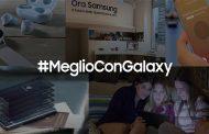 Samsung on air con la campagna digital Meglio con Galaxy