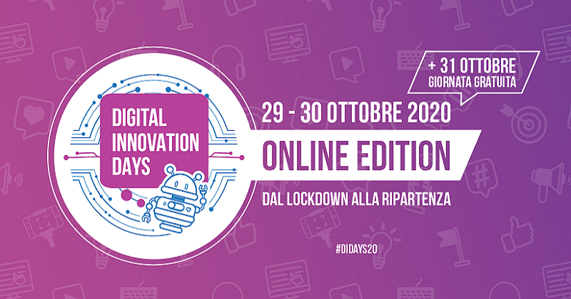 Digital Innovation Days Italy 2020: parte il conto alla rovescia