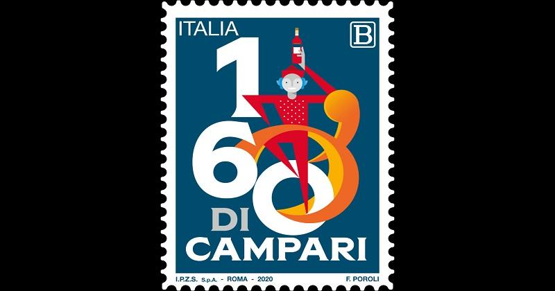 Campari Group presenta il francobollo per i 160 anni di Campari