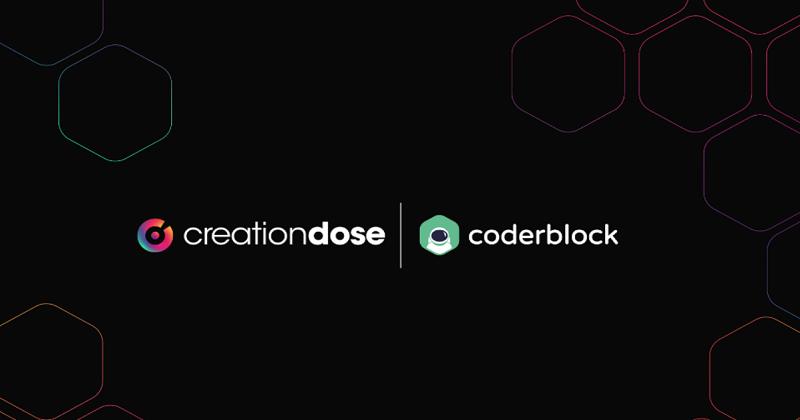 Nuova partnership tra CreationDose e Coderblock