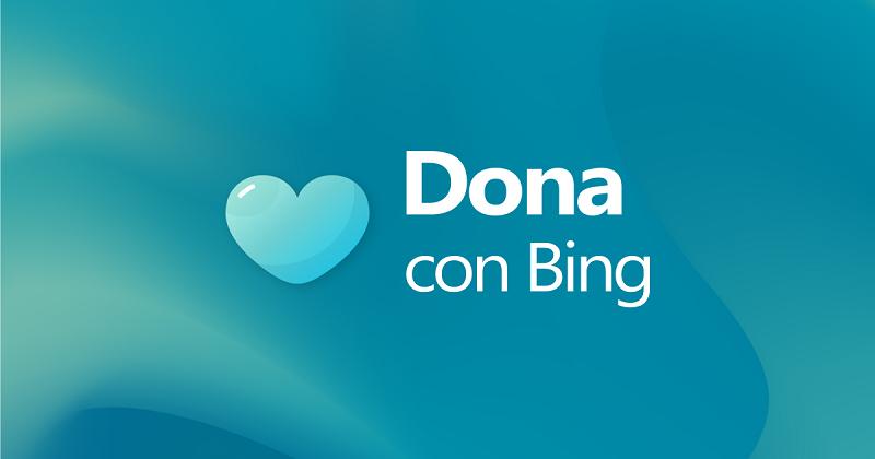 """Arriva in Italia la campagna """"Dona con Bing"""""""