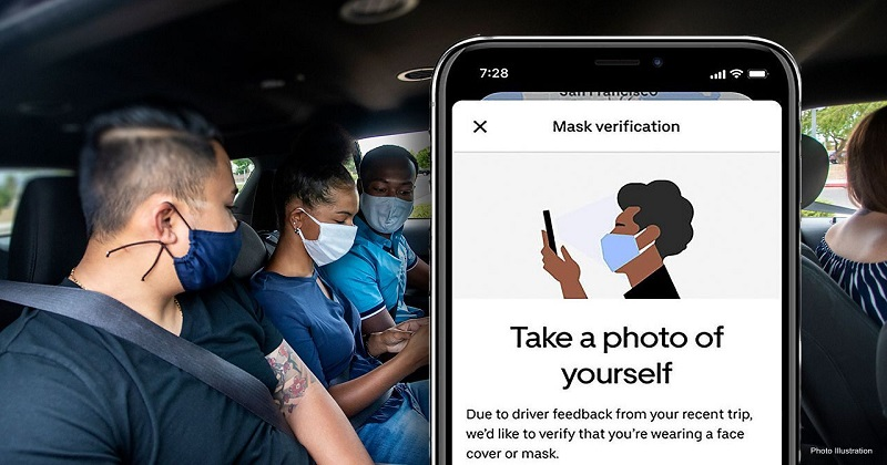 "Uber estende la tecnologia ""Mask Verification"""