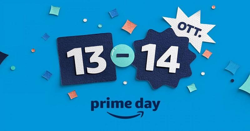 Svelate le offerte del Prime Day: lo shopping prende il via il 13 e 14 ottobre