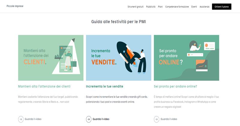 Facebook lancia una guida creativa  per aiutare le PMI italiane