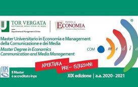 Master in Economia e Management della Comunicazione e dei Media