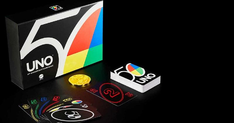 Il gioco di carte numero UNO festeggia 50 anni