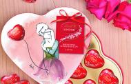 Virgola firma la nuova collezione Lindt di San Valentino