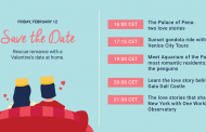 Salva il romanticismo di San Valentino con le experience online gratuite
