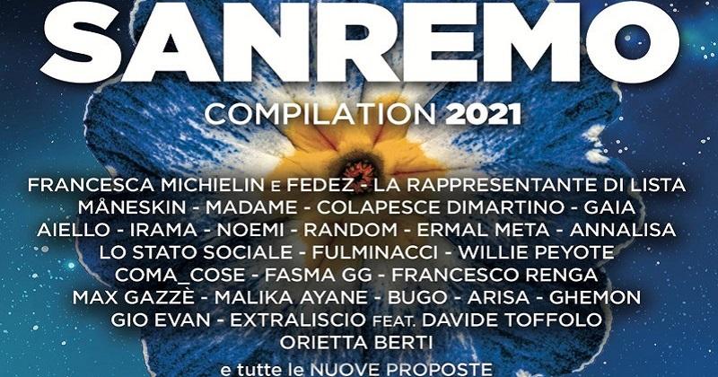 Domani esce la compilation ufficiale del Festival di Sanremo 2021