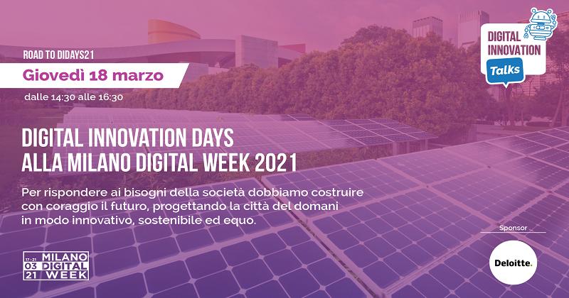 Digital Innovation Days alla Milano Digital Week 2021