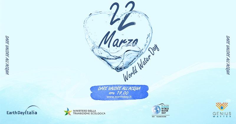 Genius Watter celebra la Giornata Mondiale dell'Acqua