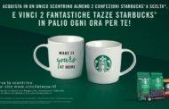 Le iconiche tazze di Starbucks protagoniste del concorso