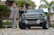 La chef stellata Isabella Potì, Brand Ambassador di Land Rover Defender 90