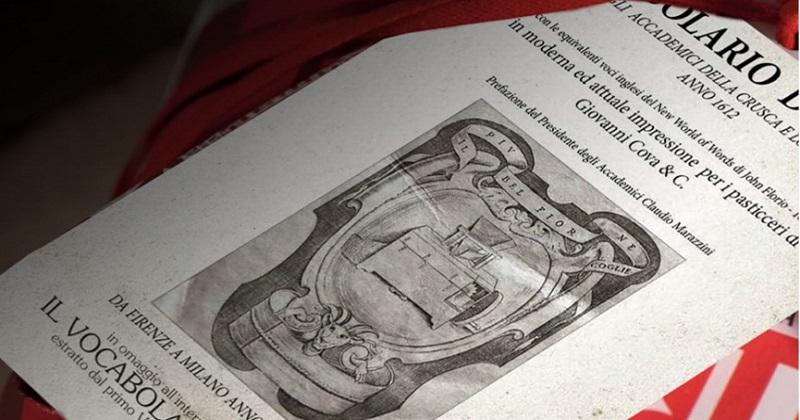 Giovanni Cova & C. e la Crusca insieme per il Vocabolario del gusto