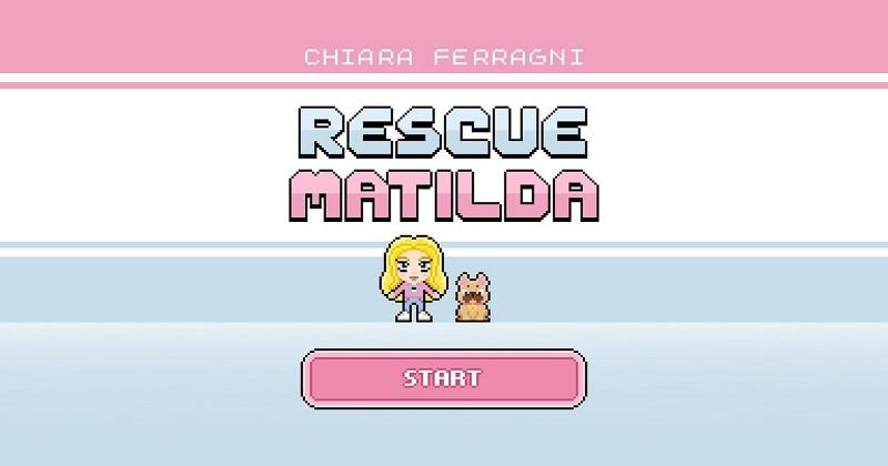Rescue Matilda: Chiara Ferragni lancia il suo primo videogame