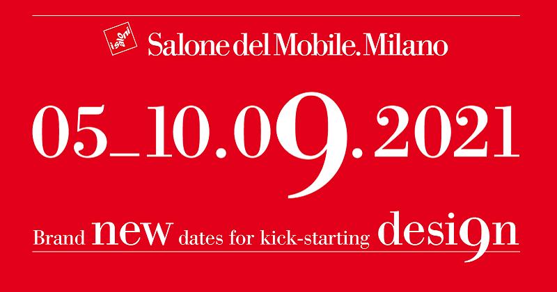 Arriva la conferma: il Salone del Mobile 2021, ci sarà