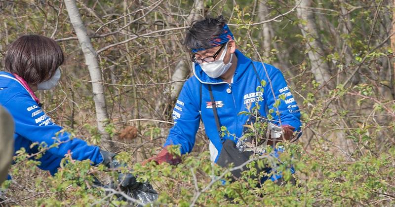 Suzuki Save The Green: tutti insieme a pulire il pianeta