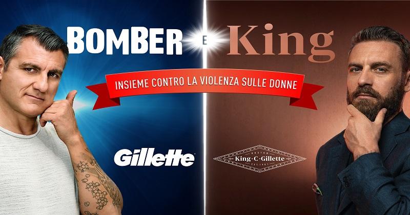 Miti e leggende del calcio italiano scendono in capo con Gillette