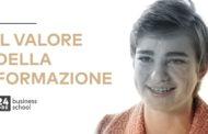 Bebe Vio, Renzo Rosso, Oscar Farinetti, Roberto Mancini e Beatrice Venezi nella campagna sociale della 24ORE Business School