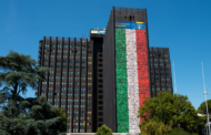 #PosteItaliani. Azzurri dentro: la mega installazione di Poste per tifare gli Azzurri