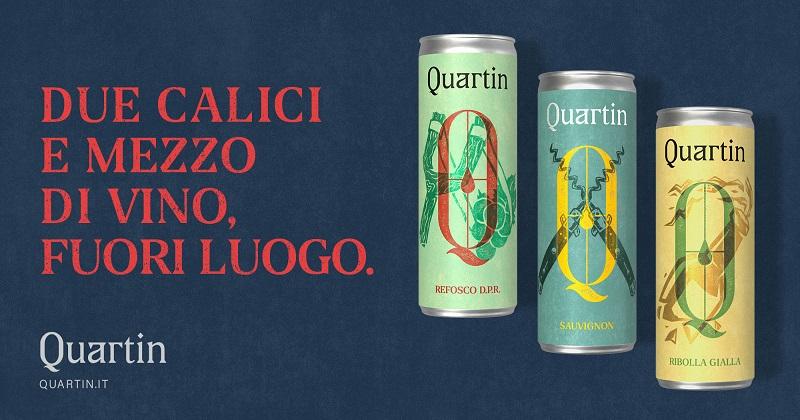 Minuscola e DUDE lanciano il Brand di vino in lattina Quartin