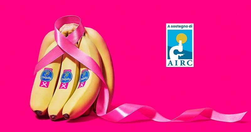 Chiquita e Fondazione AIRC: 200 milioni di banane Chiquita vestite di rosa