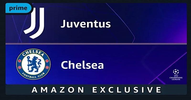 UEFA Champions League: Juventus - Chelsea su Prime Video