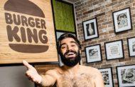 Lorenzo Biagiarelli è il protagonista della nuova campagna di Burger King